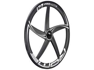 Picture of Pro-Lite Rome Full Carbon Front Wheel - Black