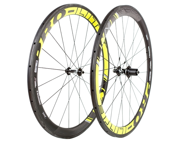 Picture of Pro-Lite Bracciano C50T Carbon Wheelset - Black
