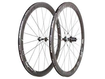 Picture of Pro-Lite Bracciano Caliente (45/45) Carbon Wheelset - Black