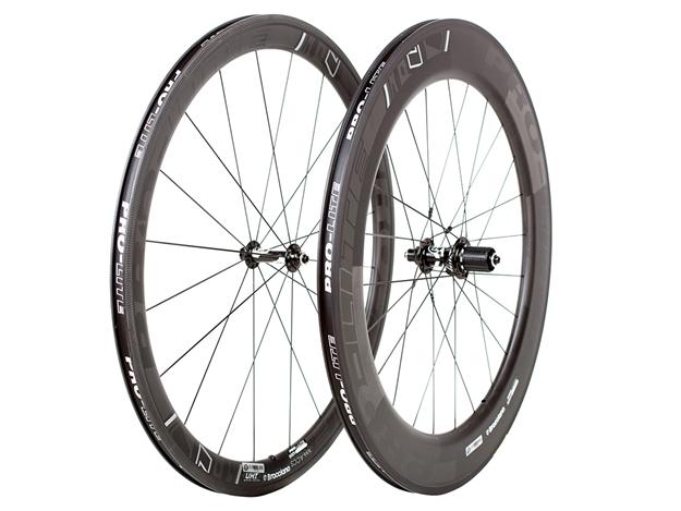 Picture of Pro-Lite Bracciano Caliente (45/80) Carbon Wheelset - Black