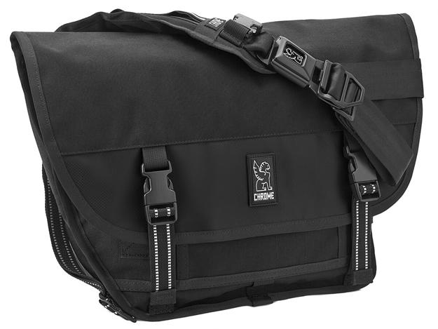 Picture of Chrome Mini Metro Messenger Bag - Black
