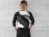 Picture of Chrome Kovac Sling Bag - Black