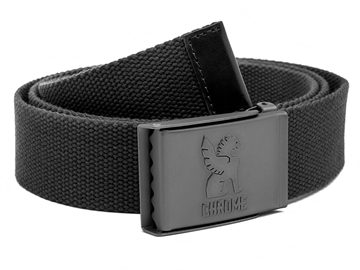 Picture of Chrome Webbed Belt - Black