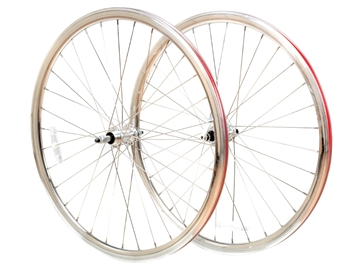 Picture of 6KU 8spd Road Wheelset (Screw on Freewheel) - Silver