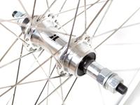 Picture of 6KU 8spd Road Wheelset (Screw on Freewheel) - Silver