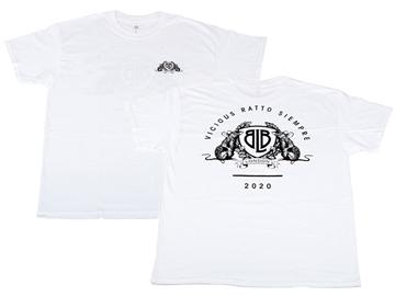 year of the rat, rat, 2020, t-shirt, tee, white