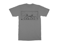 Picture of Restrap Bike-packing Tee - Grey
