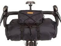 Picture of Restrap Handlebar Bag + Dry Bag + Food Pouch - Small - Black/Black