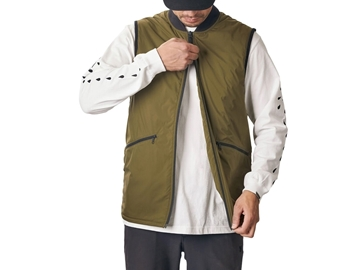 Chrome Bedford Insulated Vest - Ranger
