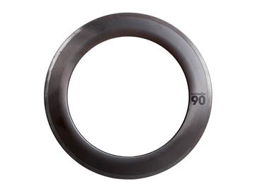 BLB Notorious 90 Rim - 700c - Natural Carbon MSW