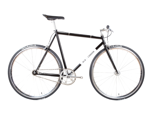 BLB London Lo-Pro FIXIE & SINGLE SPEED BIKE - Gloss Black