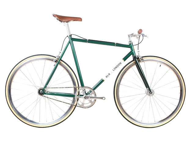 BLB London Lo-Pro FIXIE & SINGLE SPEED BIKE - Racing Green