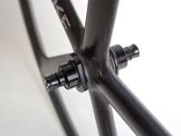 "Aerospoke 26"" Wheel - Carbon MSW - Black (Front)"
