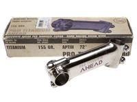 3TTT Pro Titanium Stem - Raw 120mm
