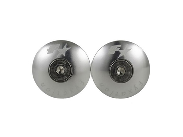 Fyxation Snug Bar End Plugs - Silver