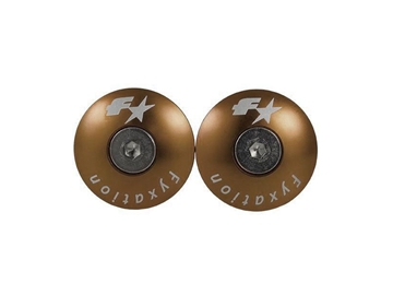 Fyxation Snug Bar End Plugs - Gold