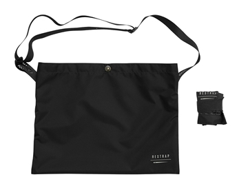 Restrap Race Musette Bag - Black