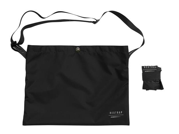 Restrap Race Musette Bag - Black