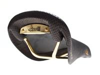 Cinelli Volare SLX Forato Saddle - Black/Gold