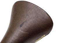 Cinelli Volare SLX Forato Saddle - Brown/Gold
