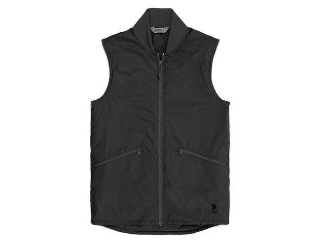 Chrome Bedford Insulated Vest - Black