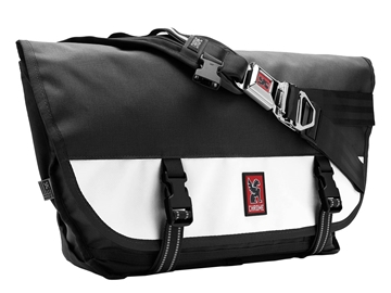Chrome Citizen Messenger Bag - Black/White
