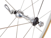 Campagnolo Shamal Titanium Wheel Set - Silver