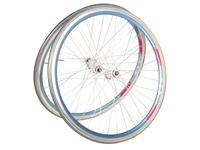 Rigida DP18 x Mavic Road Wheelset - Blue
