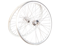 Phil Wood Track Wheelset - Silver