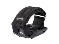Fyxation Gates Pedal with Strap Kit - Black/Black