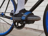 Fyxation Gates Pedal with Strap Kit - White/Black