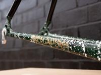 Alu x Carbon CX/Gravel Frameset - Splattered