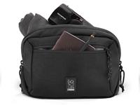 Chrome Ziptop Waistpack - Black