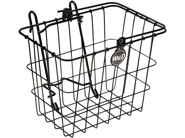 Wald 114 Compact Quick Release Basket - Black