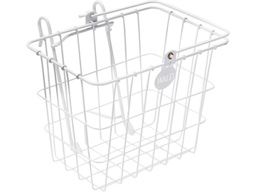 Wald 114 Compact Quick Release Basket - White