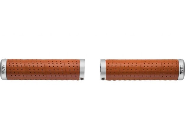 Picture of Selle Italia Eterna Leather Grip - Honey Brown