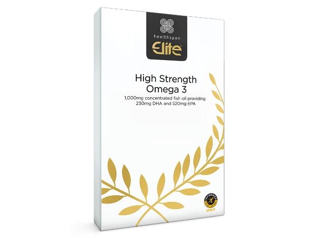 Healthspan High Strength Omega 3